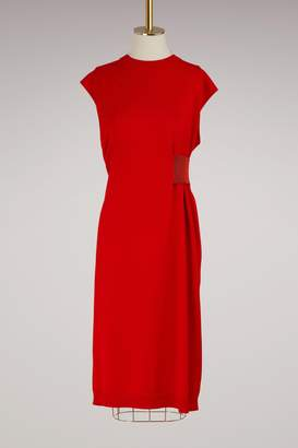 Proenza Schouler Wool side cinch dress