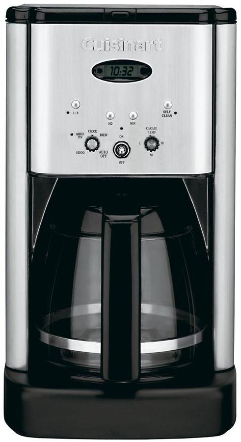 Cuisinart Brew Central 12-Cup Programmable Coffee Maker in Stainless Steel