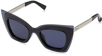 Max Mara Women's Mm Overlap Square Sunglasses