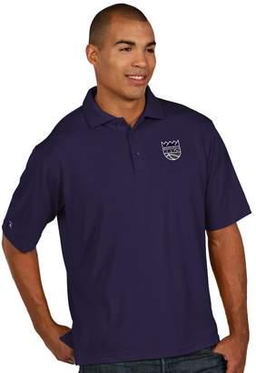 Antigua Men's Sacramento Kings Pique Xtra-Lite Polo