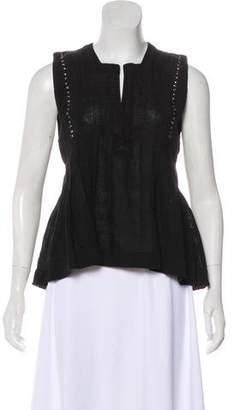 Etoile Isabel Marant Sleeveless Embellished Top