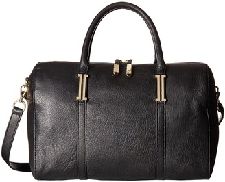 Ivanka Trump Hudson Barrel Satchel $350 thestylecure.com