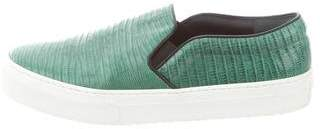 Celine Ring Lizard Slip-On Sneakers