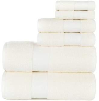 Sobel At Home Endure 6-Piece Sumptuousness 100% Cotton Towel Set Collection