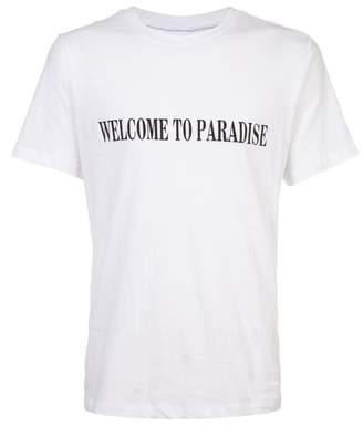 Cynthia Rowley Rowley X Mcnamara Welcome To Paradise Tee