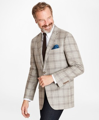 Brooks Brothers Madison Fit Plaid Sport Coat