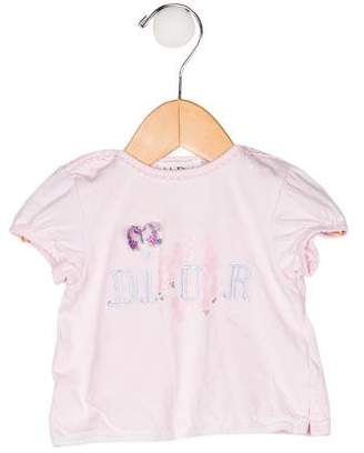 Christian Dior Girls' Embroidered Top
