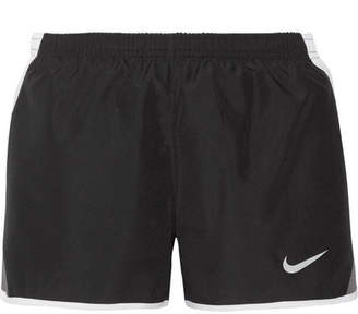 Nike - Dry Tempo Mesh-trimmed Shell Shorts - Black $30 thestylecure.com