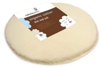 Naturepedic Organic Cotton Oval Mini Mattress Pad for Stokke Sleepi Mini