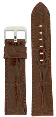 Tech Swiss LEA331-20SS 20mm Leather Calfskin Watch Strap