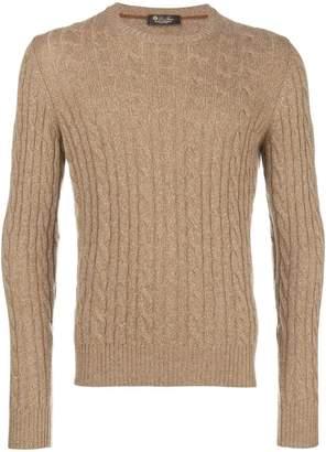 Loro Piana cable knit sweater