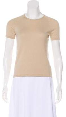 Valentino Knit Short Sleeve Top
