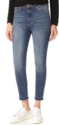 DL1961 Chrissy Trimtone Skinny Jeans $188 thestylecure.com