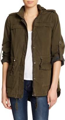 Levi's Hi-Lo Hooded Military Jacket