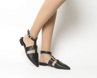 Office Forgiving Pointed Ring Flats