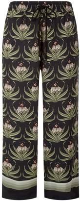 Markus Lupfer Orla Desert Flower Cropped Trousers