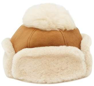 UGG Genuine Sheepskin Pompom Hat