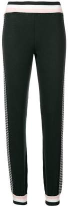 Fendi side striped track trousers