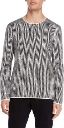 American Designer Chevron Wool Sweater