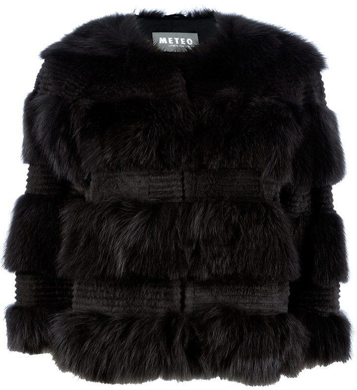 Yves Salomon Meteo By fur coat