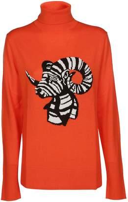 Krizia Jacquard Knit Sweater