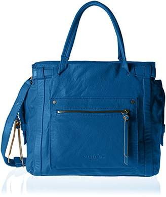 Liebeskind Berlin Virginia Sporty, Women's Shoulder Bag, Blau (Electric Blue), 42 x 45 14 cm (wxhxd)