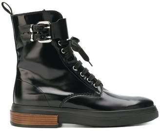 Tod's high ankle lace up boots