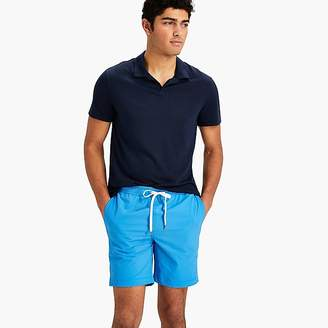"J.Crew Onia Charles 7"" swim trunk in blue"