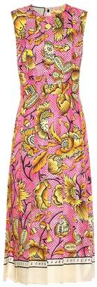 Gucci Printed silk dress