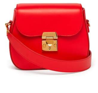 Mark Cross Lexington Mini Cross Body Bag - Womens - Red