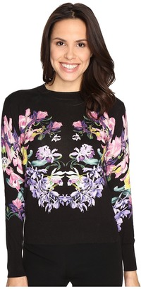 Ted Baker Petii Lost Gardens Printed Jumper $195 thestylecure.com