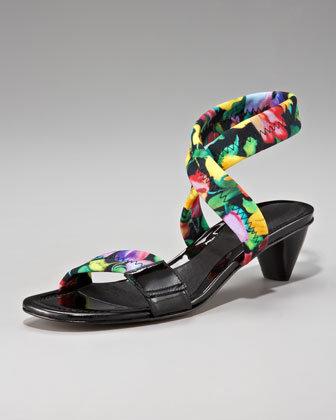 Women's Donald J Pliner Floral-Print Sandal