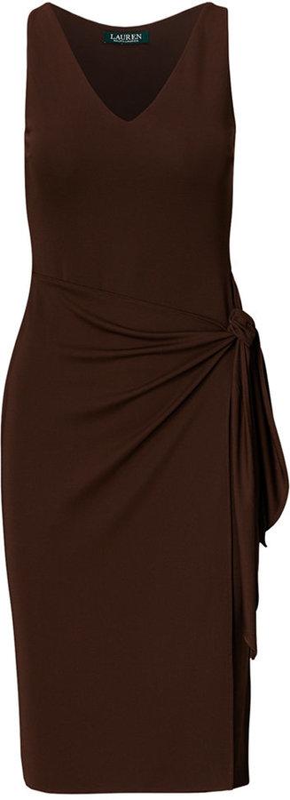 Lauren Ralph Lauren Faux-Wrap Jersey Dress 3
