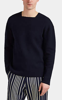 Ralph Lauren Purple Label Men's Cashmere Square-Neck Sweater - Navy