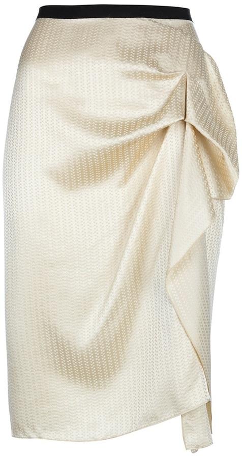 Roland Mouret draped skirt