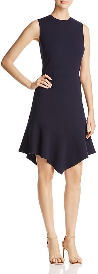 DKNYDKNY Sleeveless Flounce Hem Dress