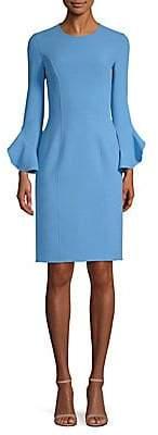 Michael Kors Women's Ruffle-Sleeve Sheath Dress