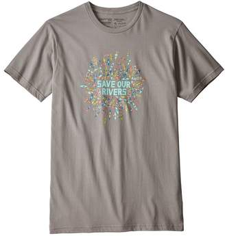 Patagonia Men's Save Our Rivers Organic Cotton T-Shirt