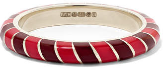 Alice Cicolini Candy 14-karat Gold And Enamel Ring - 6