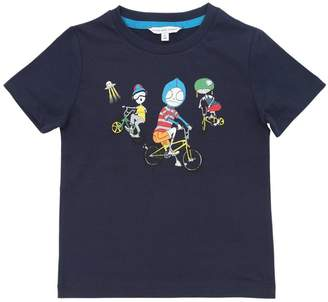 Little Marc Jacobs Bicycle Boys Print Cotton Jersey T-Shirt