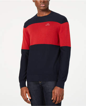 Armani Exchange Men's Colorblocked Sweater