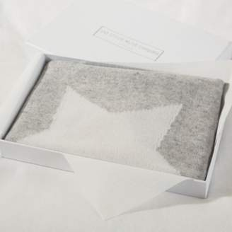 The White Company Cashmere Star Baby Blanket