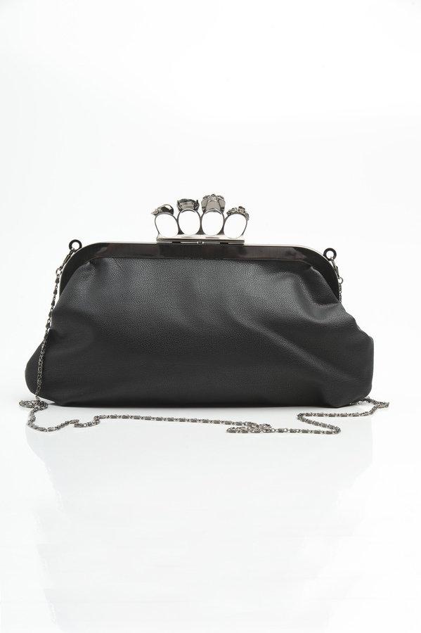 Skull Knuckle Duster Clutch Bag
