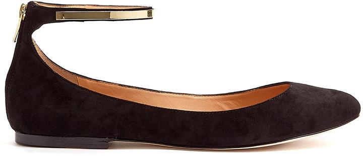 Sigerson Morrison Argenta Ankle Strap Ballet Flats