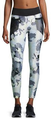 Koral Activewear Magnify Athletic Leggings, Black Pattern $130 thestylecure.com