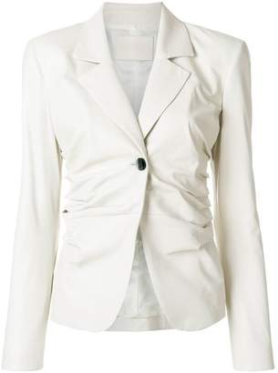 Drome gathered side blazer