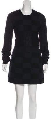 Kenzo Knit A-Line Dress