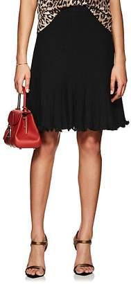 Barneys New York Women's Wool-Silk Knit Godet Skirt
