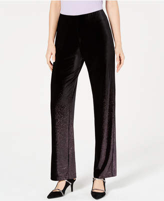Alfani Velvet Pull-On Pants
