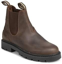Black Brown 1826 Leather Chelsea Boots